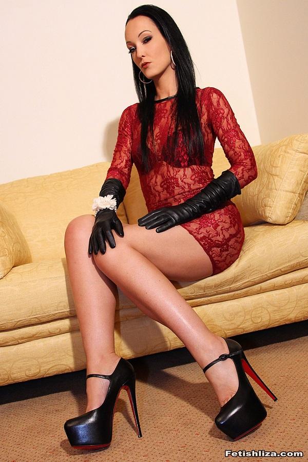 Fetish Liza POV Pictures - My Heels make u Weak
